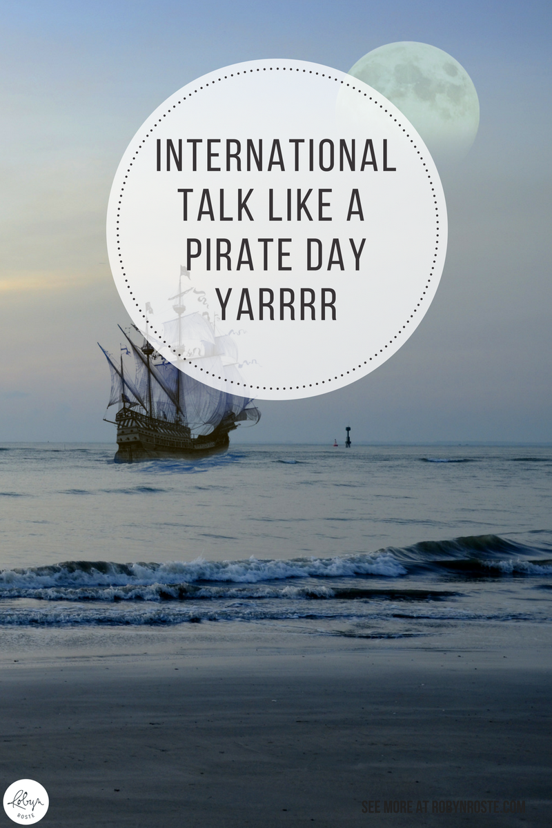 """Guys, today is International Talk Like a Pirate Day! Yeah! There was this one time I thought it would be a good idea to switch my Facebook language to """"Pirate"""" instead of English. It's pretty easy to get, you just need to add """"Translations,"""" to your Applications, then choose: English (Pirate)."""