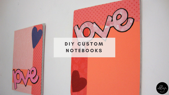 DIY Custom Notebooks