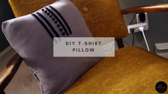 DIY T-Shirt Pillow