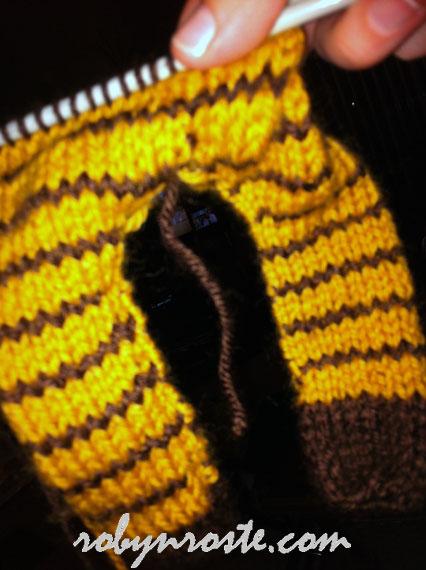 knit girraffe