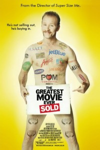 This is a poster for POM Wonderful Presents: The Greatest Movie Ever Sold. The poster art copyright is believed to belong to the distributor of the film, Sony Pictures Classics, the publisher of the film or the graphic artist.