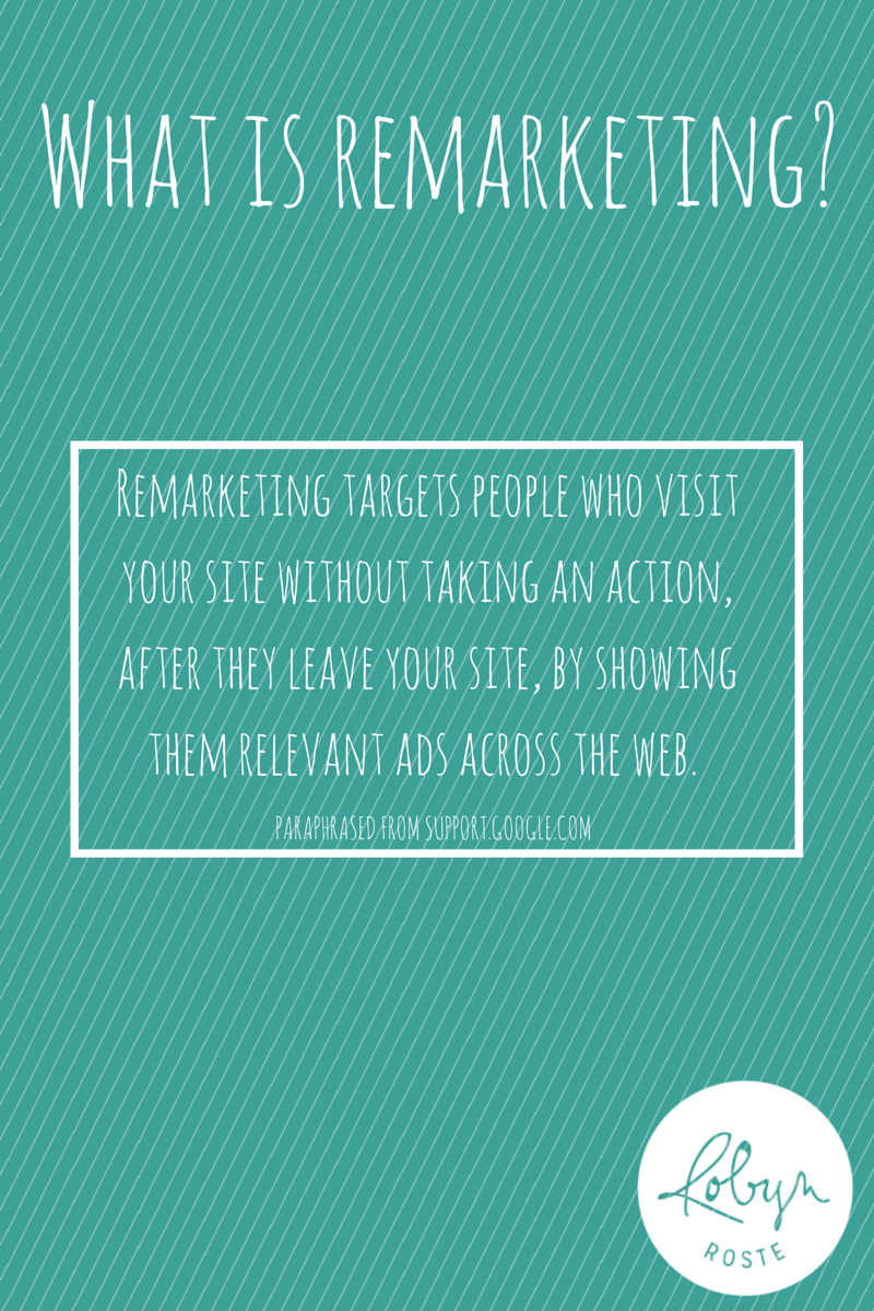 Remarketing Defined