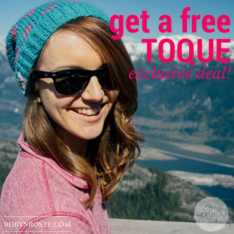 free toque from RobynRoste.com