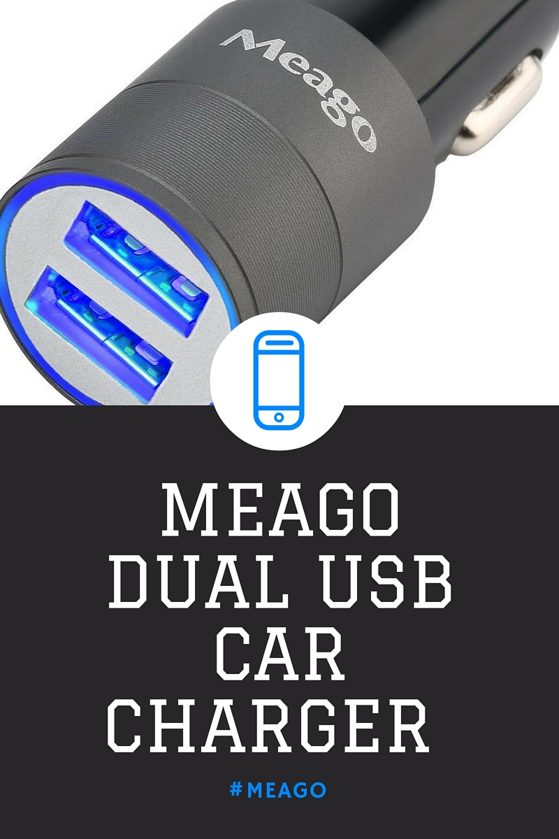 MEAGO DUAL USB CAR CHAGER [review]