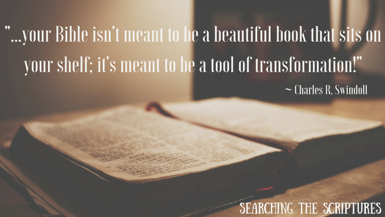 Searching the Scriptures quote