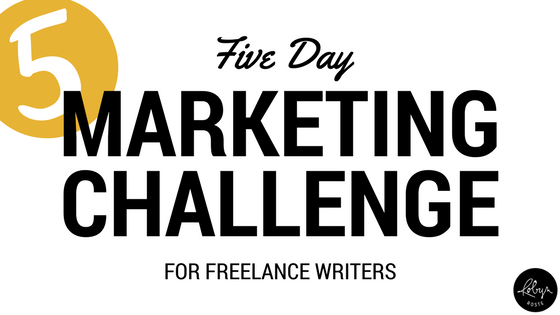 five-day marketing challenge