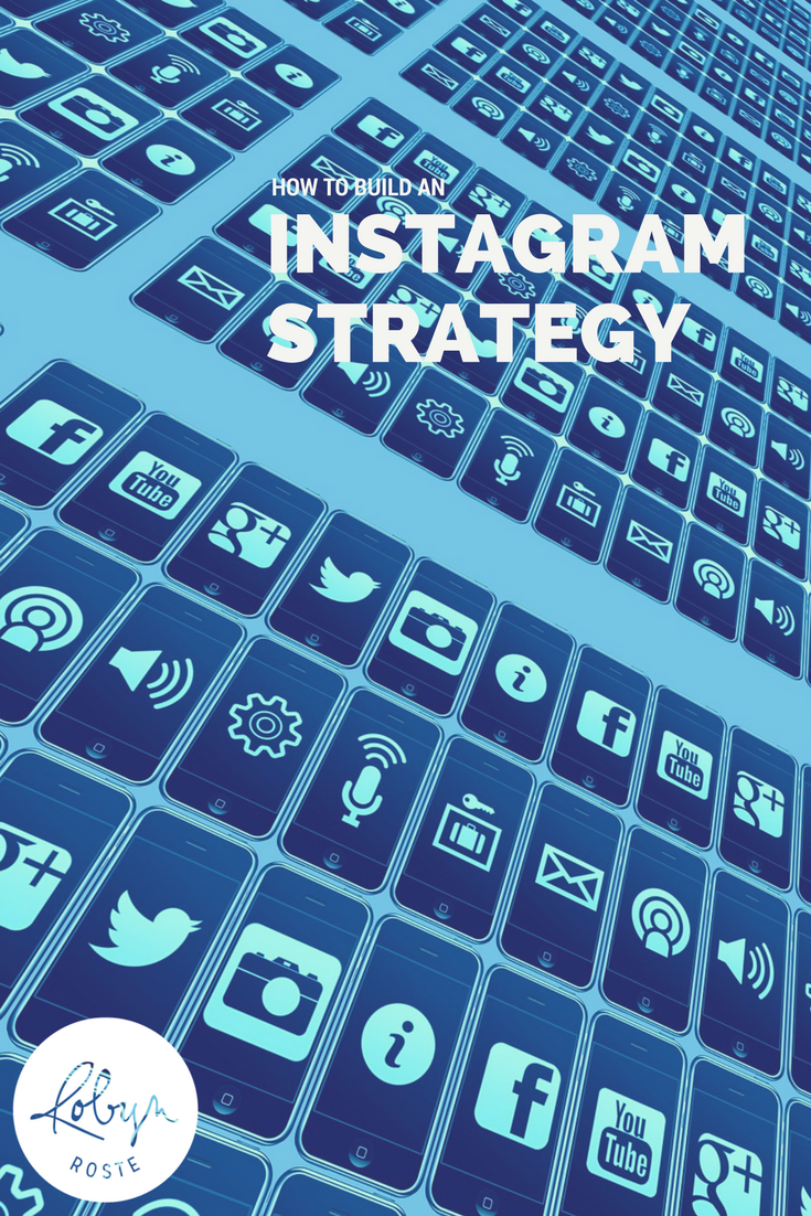 Everyone's saying you need to build an Instagram strategy but it seem like no one is saying how, right?  I get it. The thing is, it's hard as well as personal. There isn't a one-size-fits-all photo-creating money-making Instagram strategy you can copy and paste into your marketing plan. I mean, people may tell you that and may even try and sell you that but I'm telling you, it's something you have to build and customize to your specific brand.