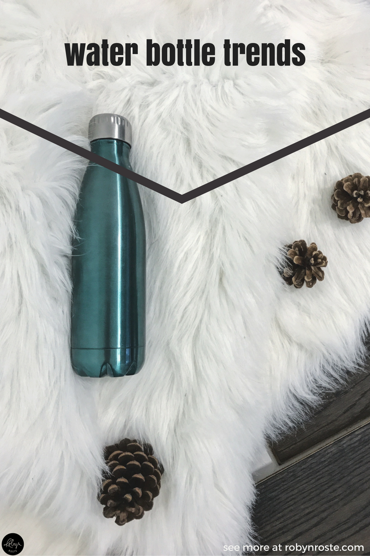 Earlier this spring, my husband came home with a new water bottle for me. I thought it a bit strange, considering we have <em>literally</em> a cupboard filled with reusable plastic and metal water bottles. But he was swept up in water bottle trends!
