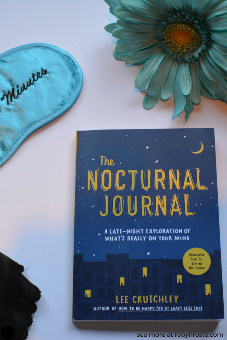 Although I don't wrestle with my nighttime thoughts as often as I once did, I have enjoyed flipping through The Nocturnal Journal and allowing the prompts to send my mind in directions I don't often go. This is a nice way to journal when you don't have much to say (or don't know where to start). It also aids in focusing your mind, getting your thoughts organized, and leaving your burden on the page. So you can experience restful sleep.