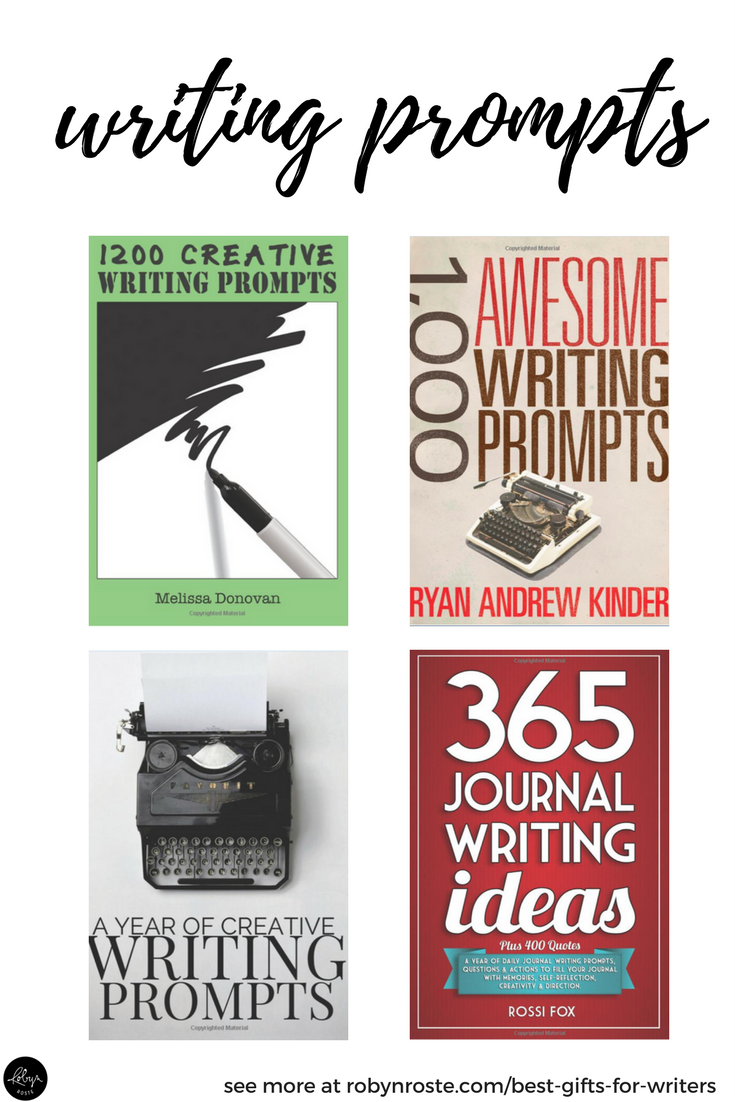 Looking for writing prompts and writing journals? This is your official one-stop shop! What do you get the writer who has everything? Or, perhaps this is more accurate: Oh no! You drew THE WRITER for your secret Santa gift exchange and you have no clue what would make a good gift! Help! What are the best gifts for writers anyway? Is there a GIFT GUIDE? Yes, yes there is.
