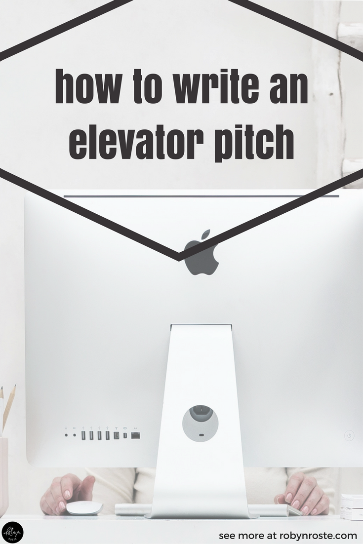 Elevator speech. Elevator statement. Elevator pitch. Why are we on an elevator all the time? The phrase came from the idea you need to figure out a way to explain what you do, who you serve, and what makes you different in the time it would take to ride an elevator. It's a short, compelling sales pitch. So, how do you write an elevator pitch?