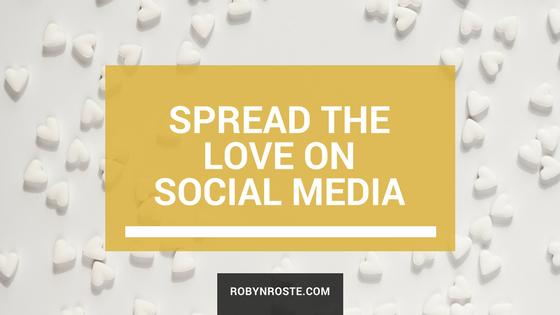 spread the love on social media
