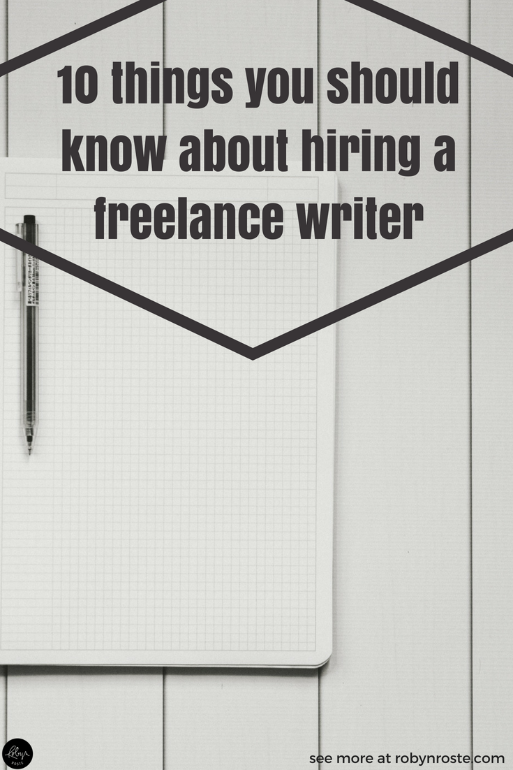 If it's your first time hiring a writer or even if you've done it before but find it a bit awkward, you'll love this post.