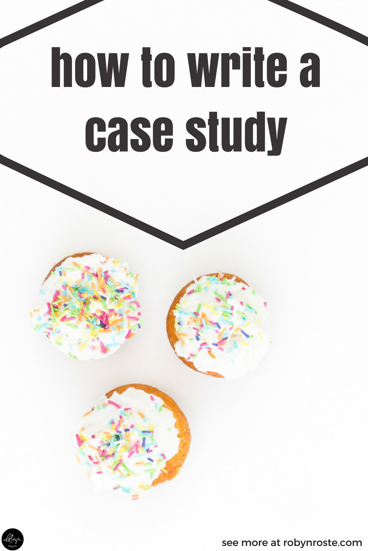The question of how to write a case study is a great one. But maybe you're wondering what a case study is and why you should care about it. I get that.