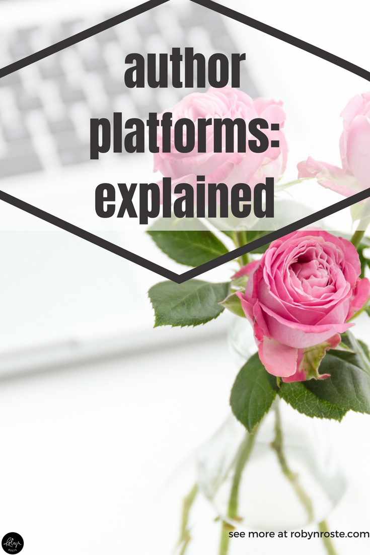 "If you Google ""What is an author platform?"" you'll see many, <em>many</em> sort-of answers. Because this isn't a simple question. But I'm still going to try and answer it."