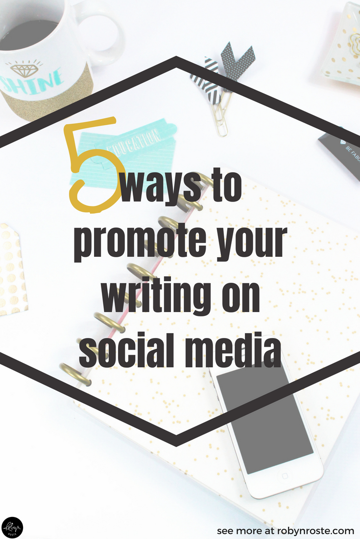 When you're a freelance writer it might seem a bit strange to promote your writing to others on social media but it's an important step in marketing your work and showcasing your skills.