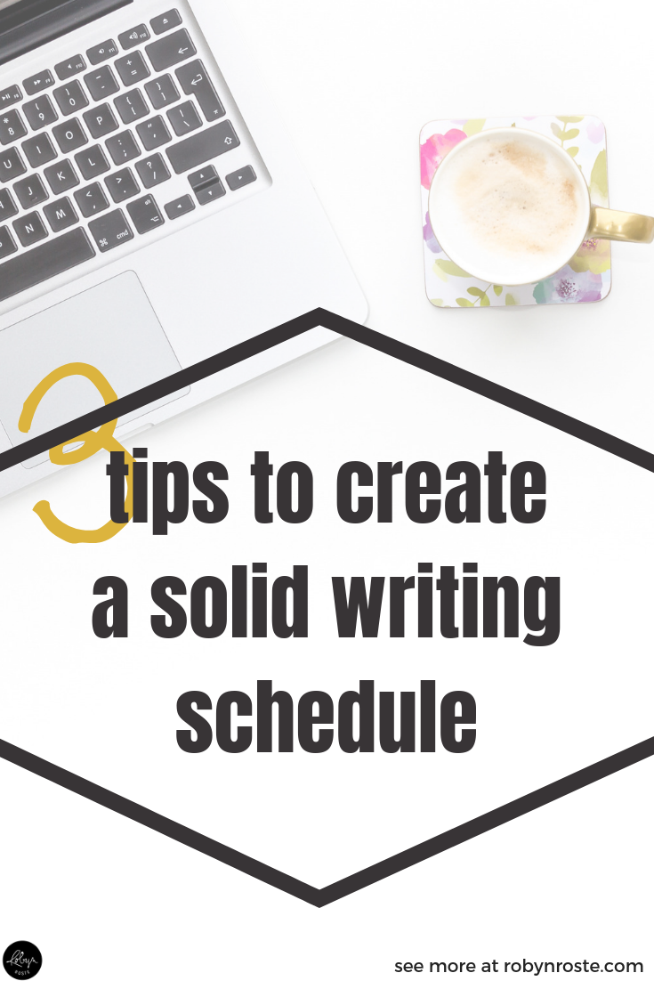 "By taking time to create a writing schedule you change your internal dialogue from ""Someday I'll write a book,"" to ""By THIS DATE I'll write a book."" That's a huge difference."