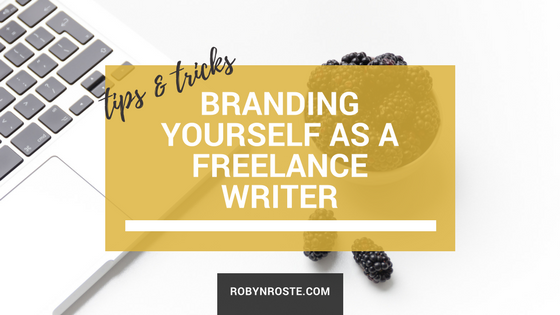 branding yourself as a freelance writer