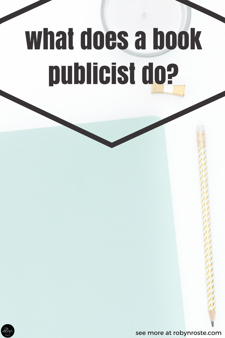 "What does a book publicist do? It's a common question. In general, ""book publicist"" is a broad name for a person who has direct and indirect influence on book sales. So a book publicist is an interesting and important role. But just how does a book publicist affect this positive influence? And what does a book publicist do for a writer? And how long does it take?"